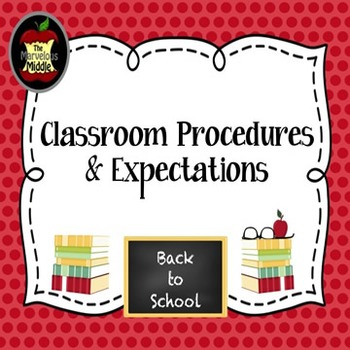 Classroom Procedures and Expectations Icon